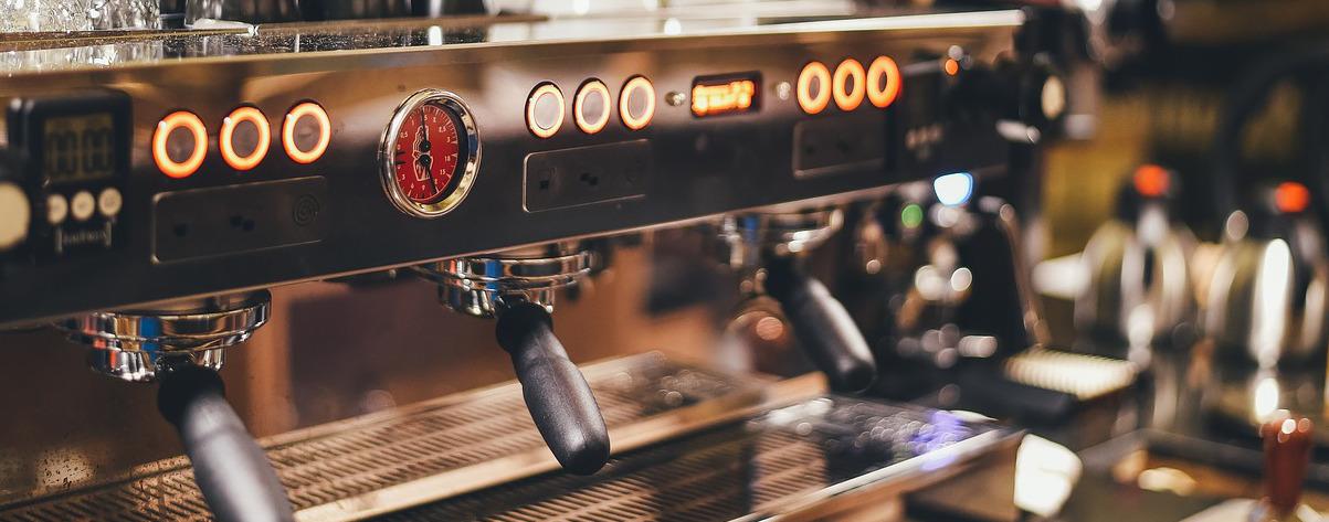 Ein Kaffeevollautomat - besonders gutes Aroma