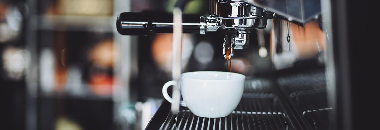 Der Kaffeevollautomat im Einsatz